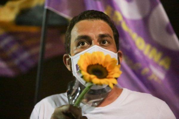 agenda masp panfletagem candidato boulos SP prefeito SP 2020