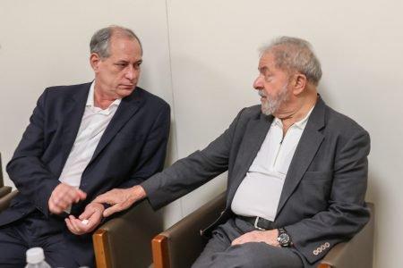 Ciro gomes e Lula durante encontro