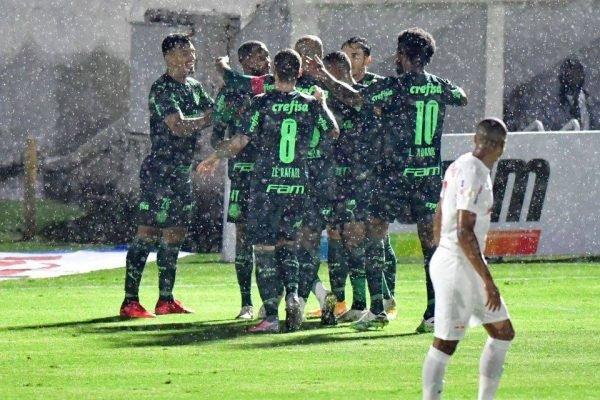 Palmeiras vence o Bragantino