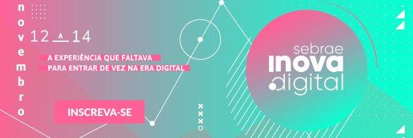 Sebrae Inova Digital Evento