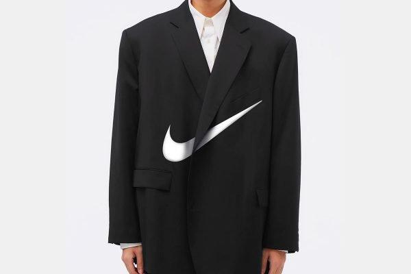 Terno com logo da Nike