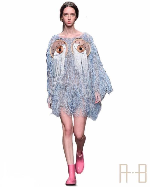 Look da marca Renata Buzzo, estreante do SPFW 25 Anos