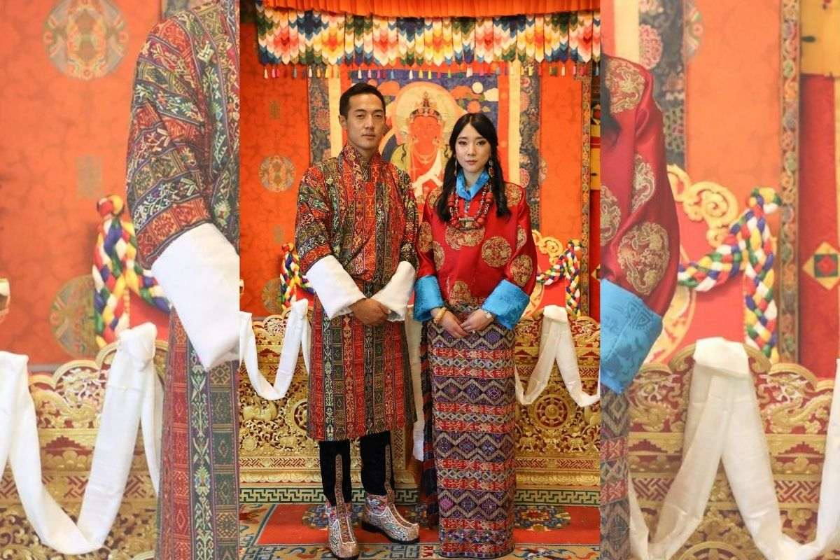 princesa Eeuphelma Choden Wangchuck e Dasho Thinlay Norbu