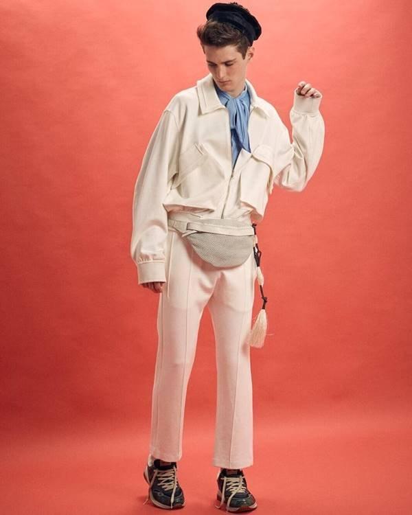 Look da marca Misci, estreante do SPFW 25 Anos