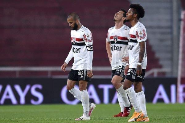 São Paulo perde na Libertadores