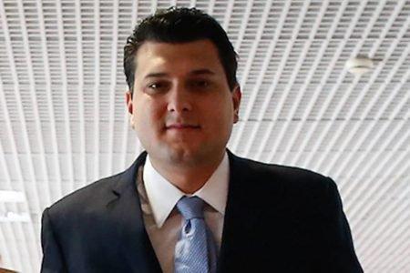 Deputado distrital Eduardo Pedrosa (PTC)