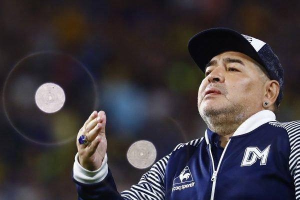 Maradona como técnico