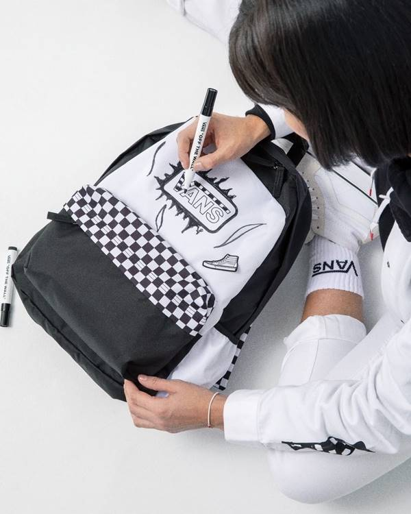 Mochila da Vans com estampa Checkerboard