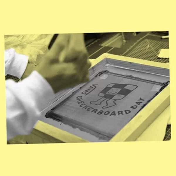 Estampa Checkerboard
