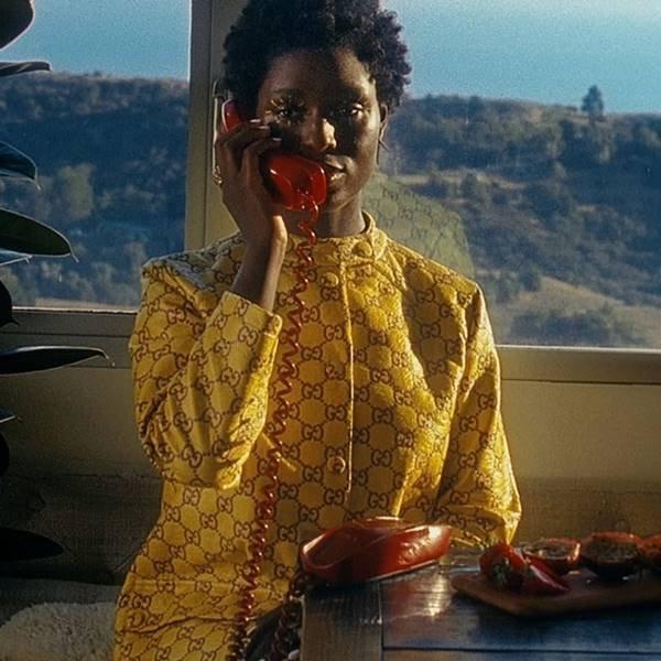 Trecho de curta-metragem da Gucci, dirigido por Jodie Turner-Smith