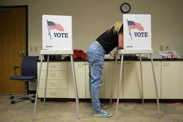 local de votacao nos EUA 2020