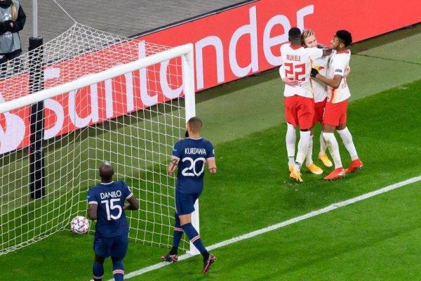 PSG perde para o RB Leipzig
