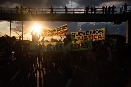 Protesto na EPTG
