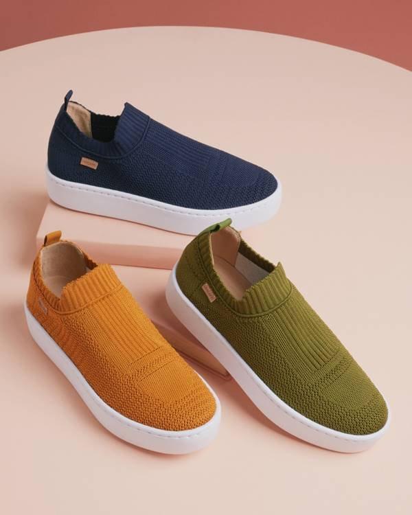 Calçados coloridos da Anacapri
