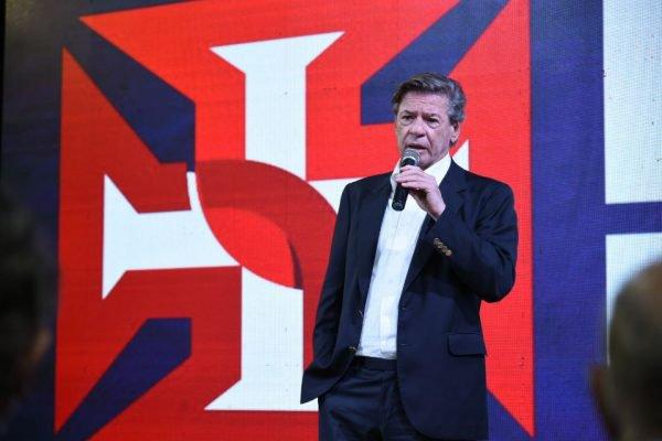 Jorge Salgado, candidato a presidente do Vasco