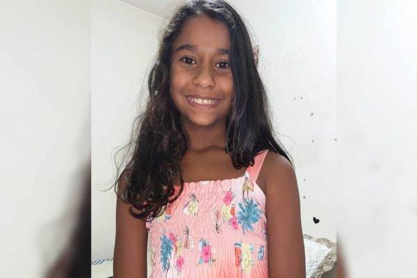 Maria Eduarda Mowbray, menina de Brasília com a síndrome inflamatória multissistêmica pediátrica