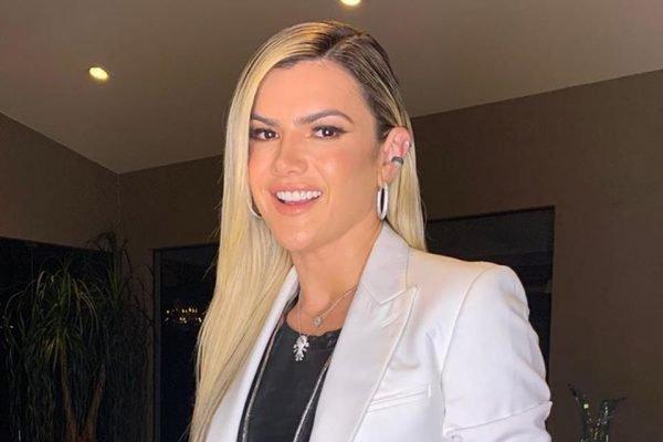 Mirella Santos, esposa do Ceará