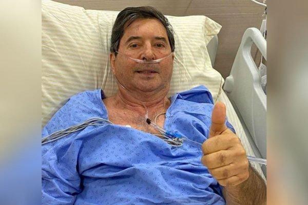 Hospital retira entubação de Maguito Vilela