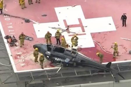 helicóptero de transplante