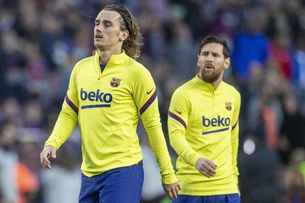 Griezmann e Messi