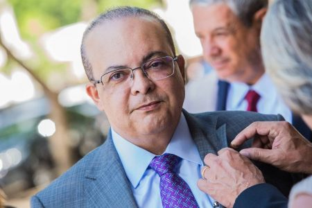 Governador do Distrito Federal, Ibaneis Rocha (MDB)