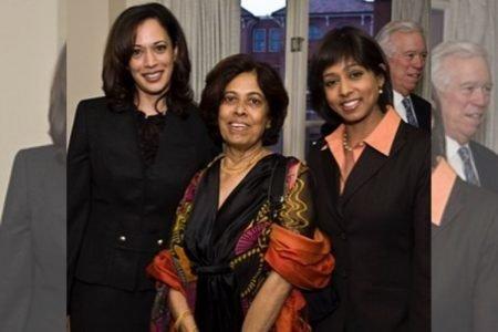 Kamala, Shayamala e Maya Harris