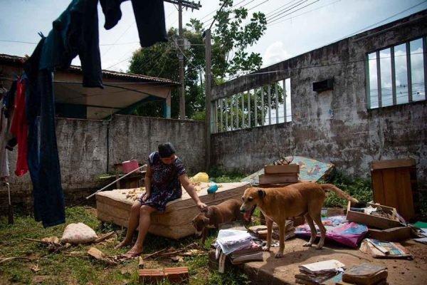 Amapaense perde casa em enchente