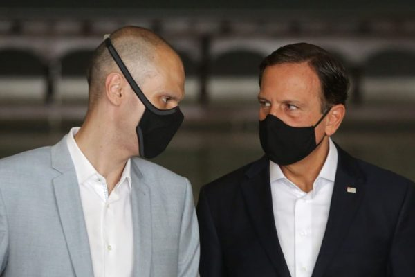 Bruno Covas e João Doria anunciam renovação da F1 em Interlagos até 2025