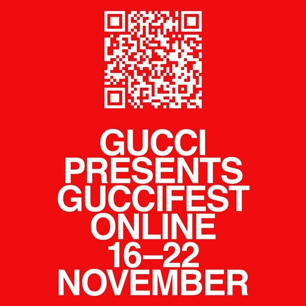 Poster do GucciFest