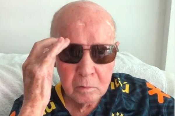 Zagallo de óculos de sol