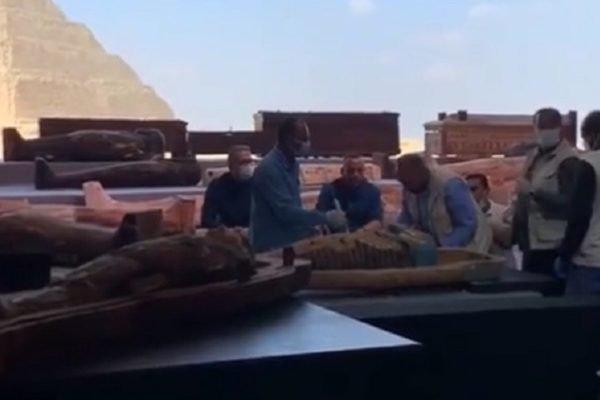 Tumbas em Saqqara