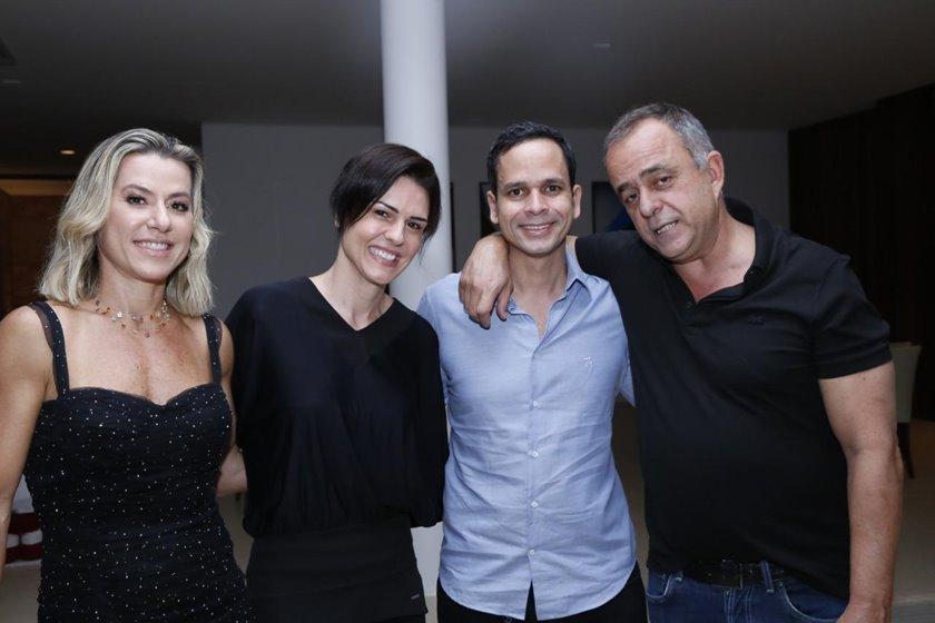 Flávia Toledo, Carol e Alexandre Pitta Lima, Eduardo Toledo
