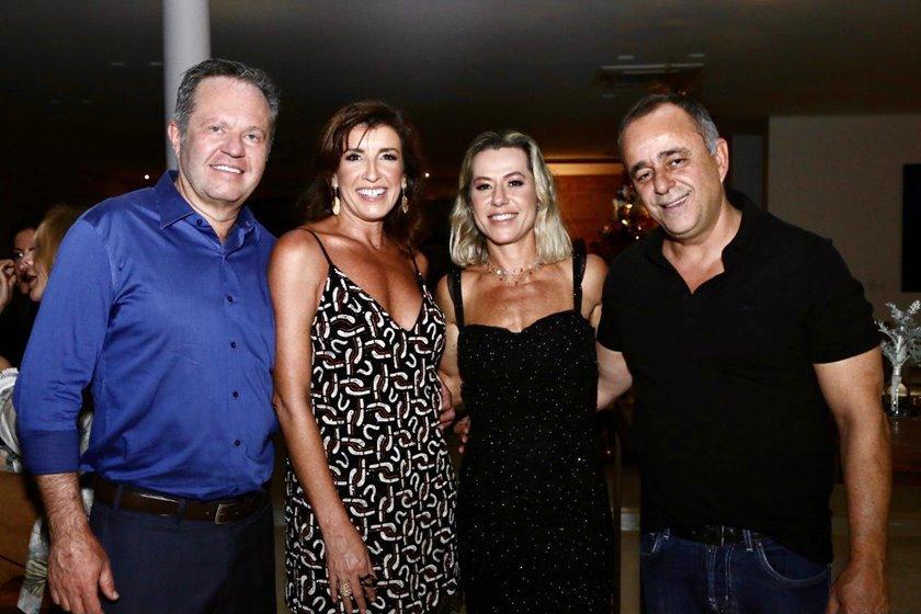 Sergio Kniggendorf, Daniela Kniggendorf, Flávia Toledo e Eduardo Toledo