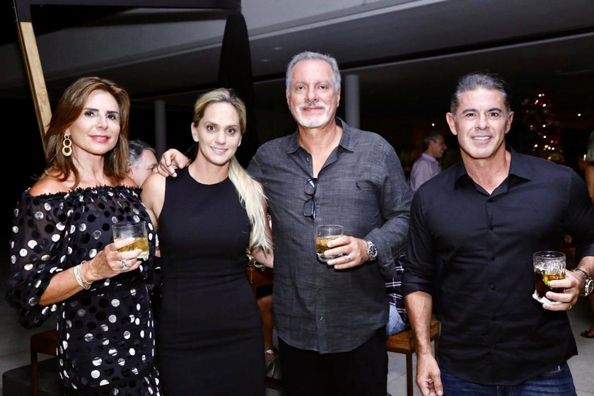 Valéria Allam, Amanda De Luca, Nasser Allam e Marcelo De Luca