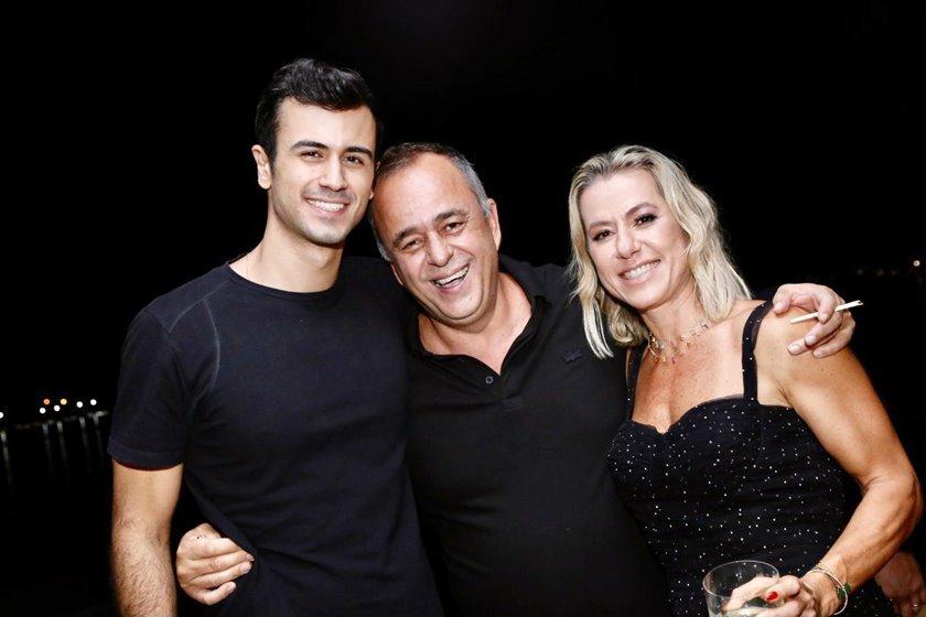 DJ Dudu Moreira, Eduardo e Flávia Toledo