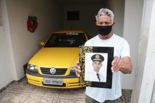foto do waslisson Holanda Fernandes policial assassinado em ceilandia após tentativa de roubo