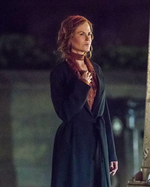 Nicole Kidman durante gravações da série