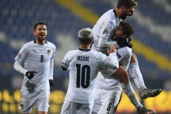 Itália avança na Liga das Nações