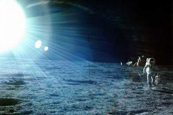 Alan Bean na lua