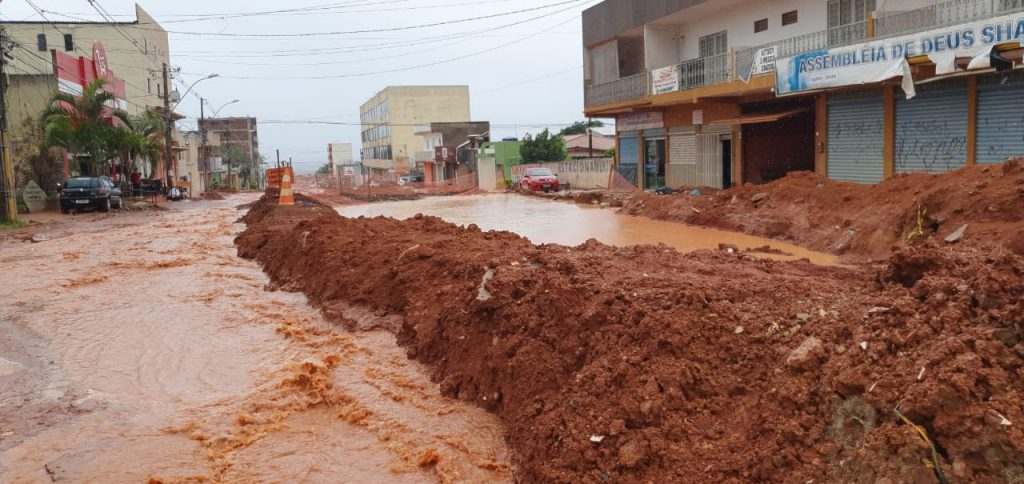 Chuva em Vicente Pires