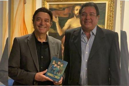 Claudio Cohen e Luis Carlos Alcoforado