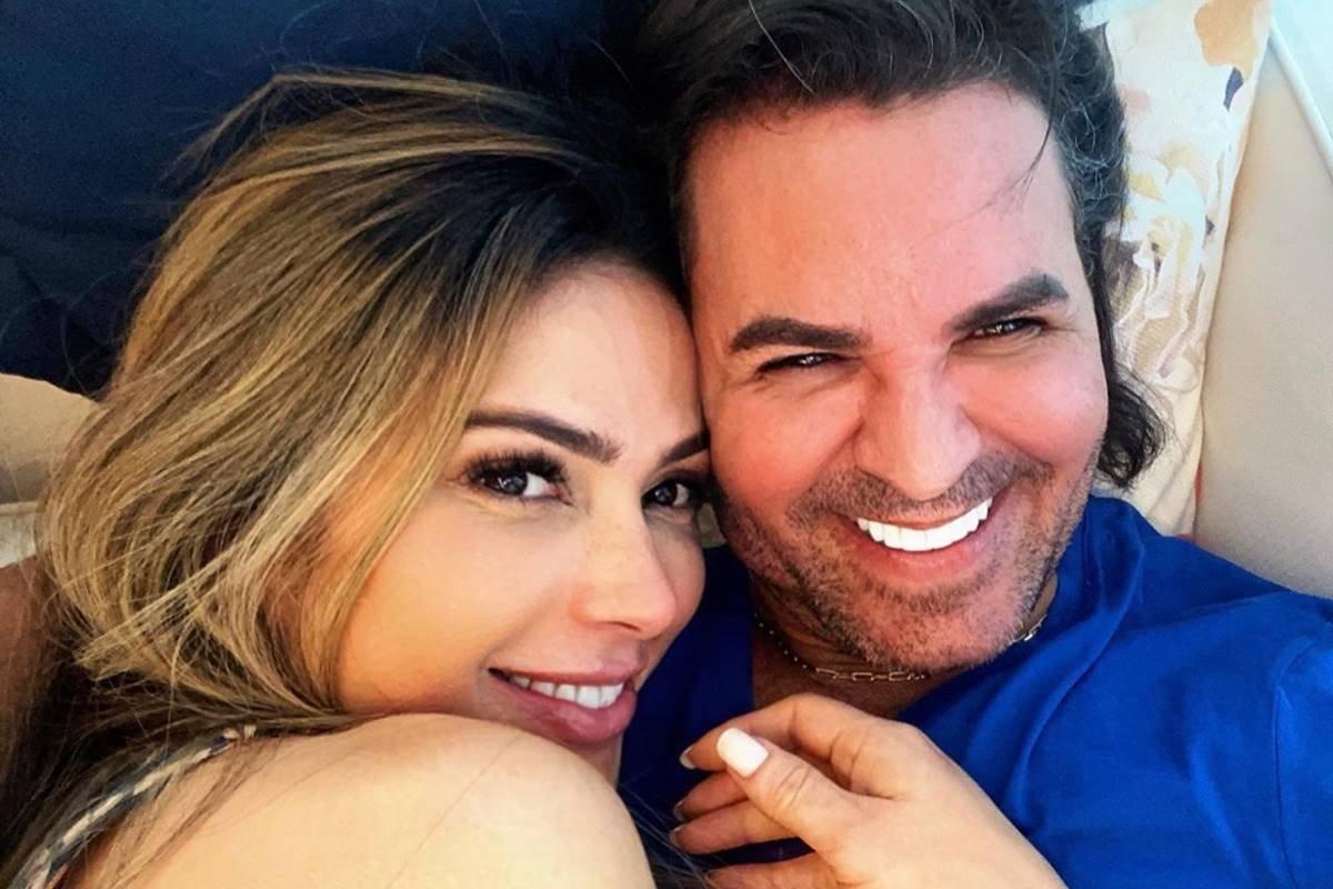 Alerta de novo casal: Eduardo Costa e Nadja Pessoa vivem romance