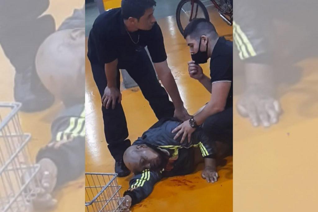 cliente agredido e morto por seguranças do supermercado Carrefour