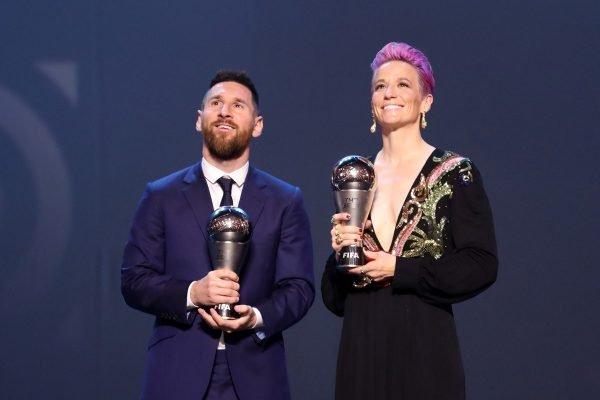 Messi e Rapinoe