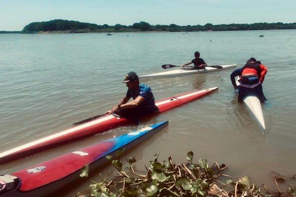 Canoagem no Lago Paranoá