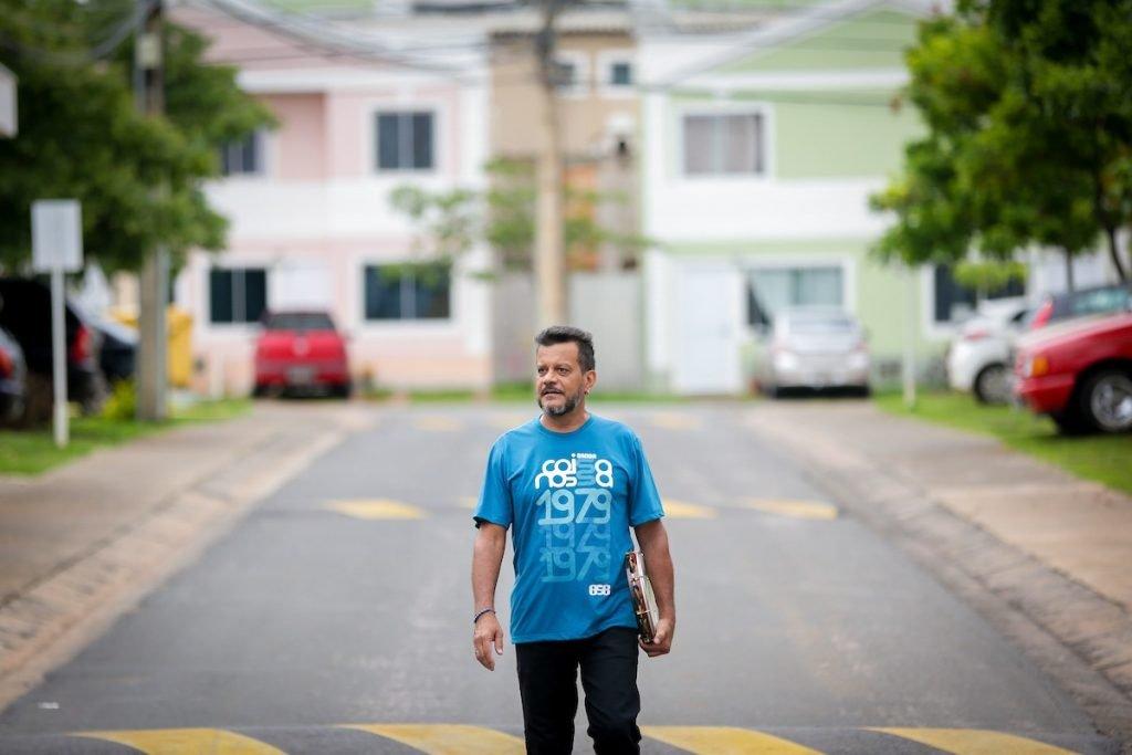 Marcelo Damasceno de Sena enfrenta o câncer de próstata