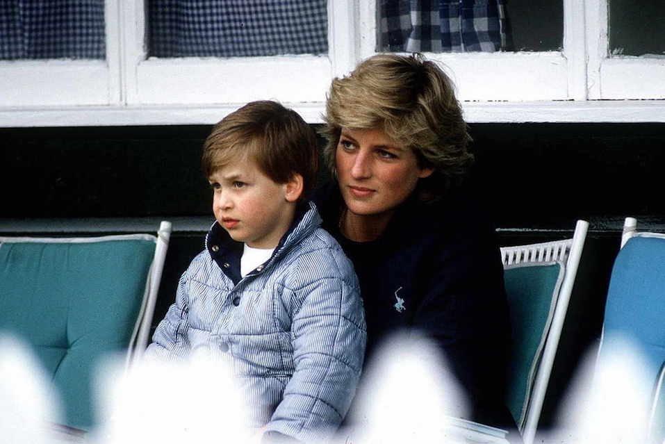principe william e princesa diana