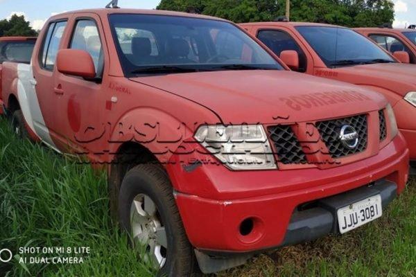 Nissan Frontier leilão CBMDF