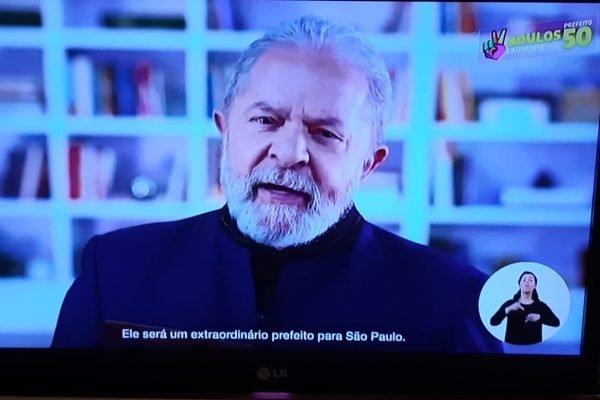Lula la propaganda de boulos