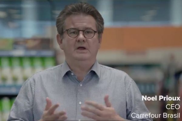 Noel Prioux, CEO Carrefour Brasil